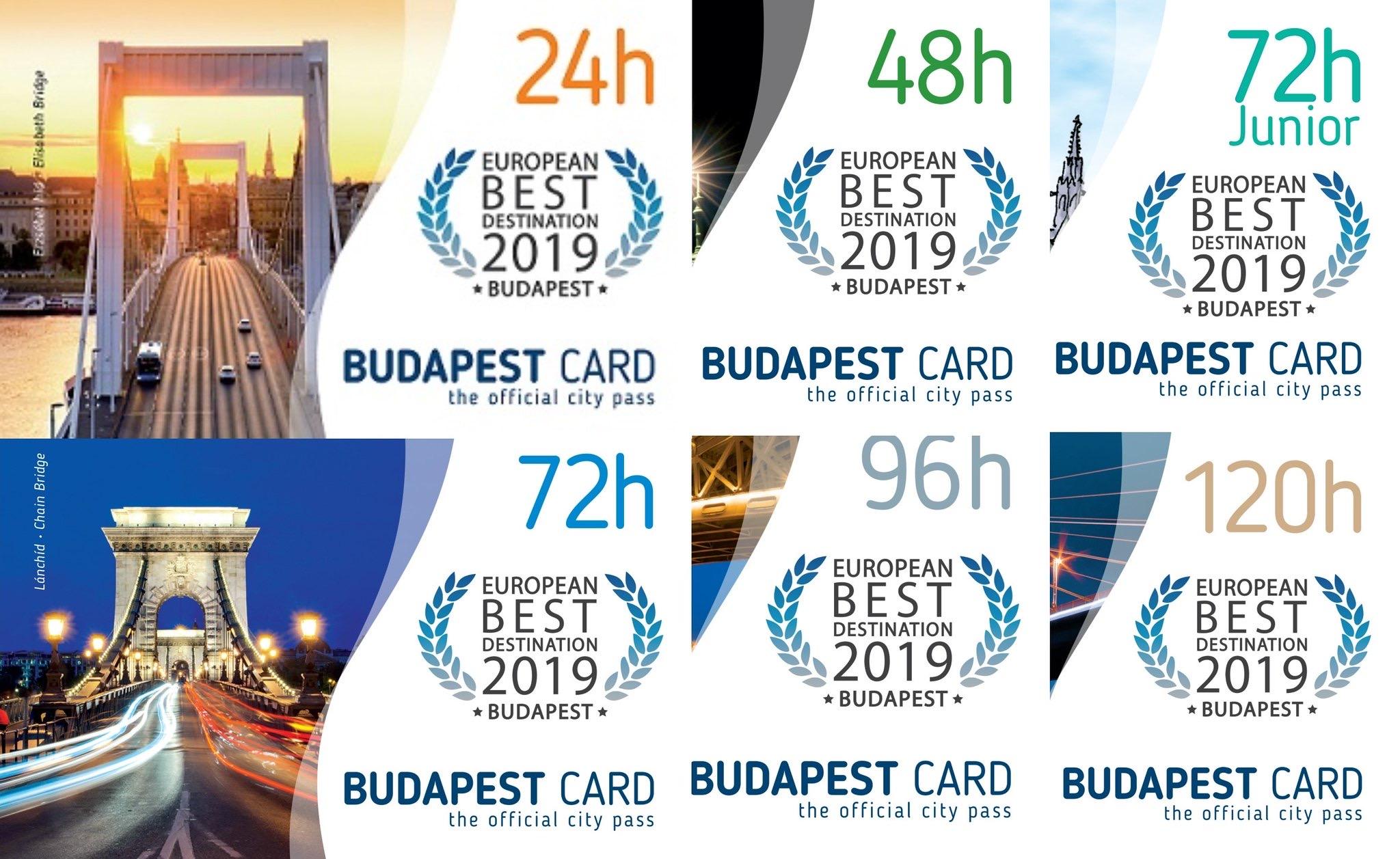 Un bono de gran valor. Elige entre 1 y 5 días para explorar Budapest.