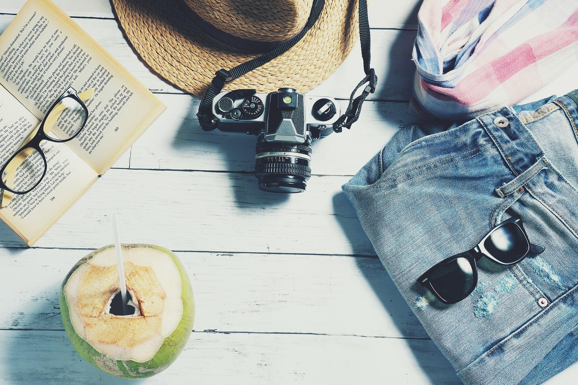 hacer las maletas y prepararse para las próximas vacaciones en su destino favorito