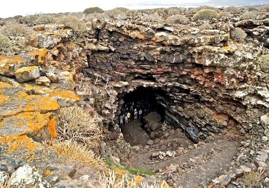 La cueva de los Verdes in Lanzarote