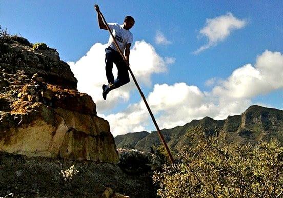 Hiking Anaga mountains Taborno route