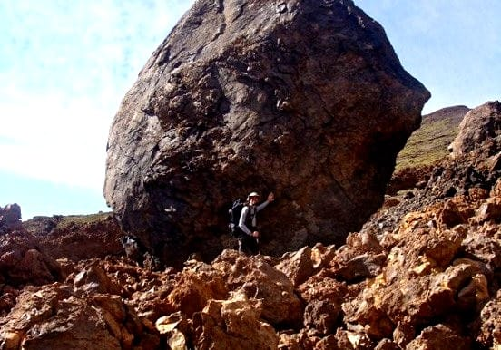 Hiking excursion in Teide National Park