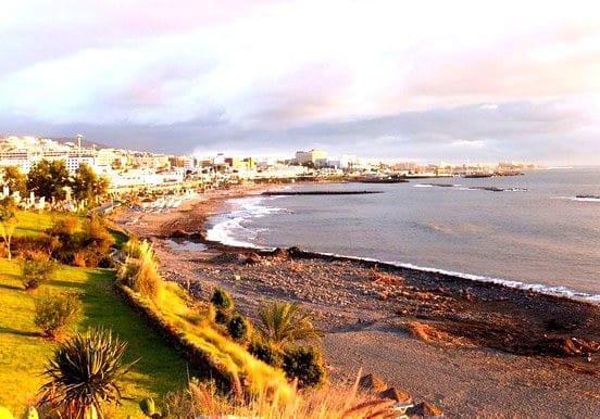 Costa Adeje beach in Tenerife