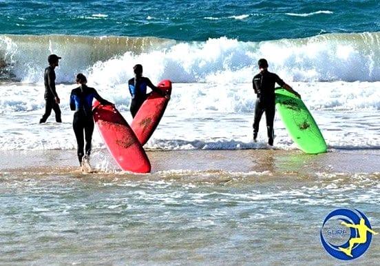 Bronce  Mar Beach surfing camp Fuerteventura