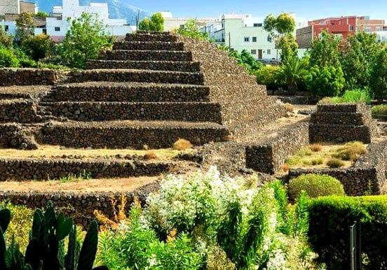 See pyramid in Pirámides de Güímar Tenerife