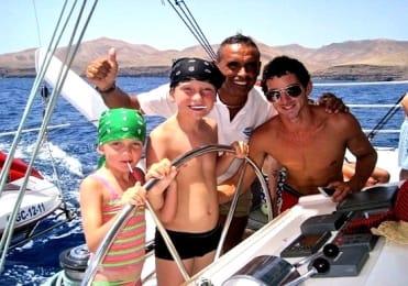 Children friendly catamaran trip Fuerteventura