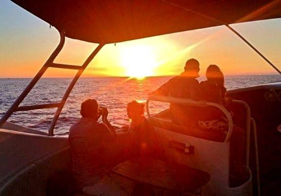 La Palma sunset on Fantasy boat excursion