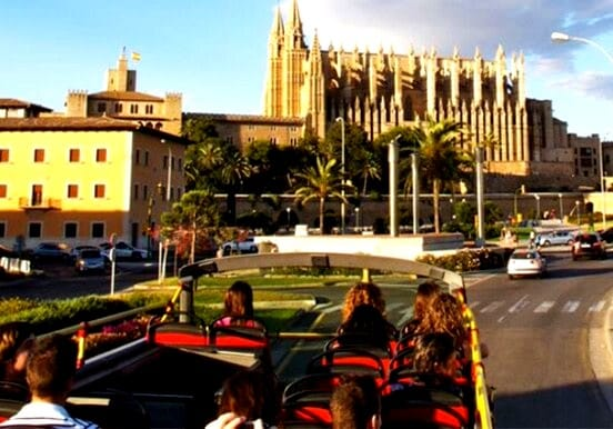 Hop on and Hop off city tour in Mallorca