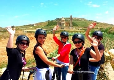 San Dimitri and Gharb segway excursion