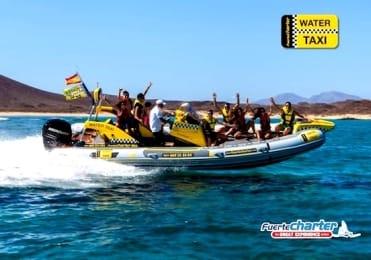Water taxi to Lobos Island Fuerteventura