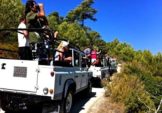 Ibiza jeep safari excursion