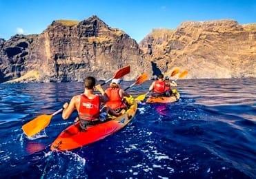 Kayaking in Los Gigantes