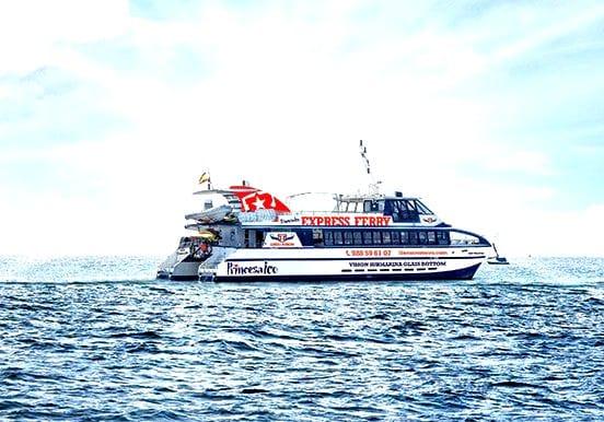 Express ferry from Lanzarote to Fuerteventura