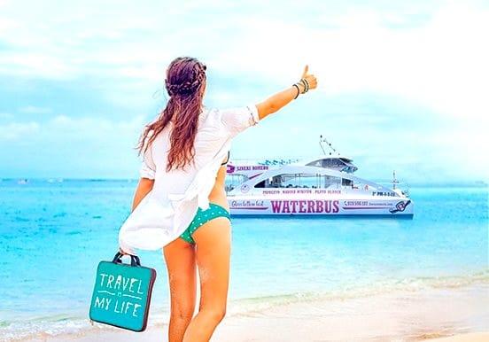 Glassbottom waterbus Playa Blanca to Papagayo