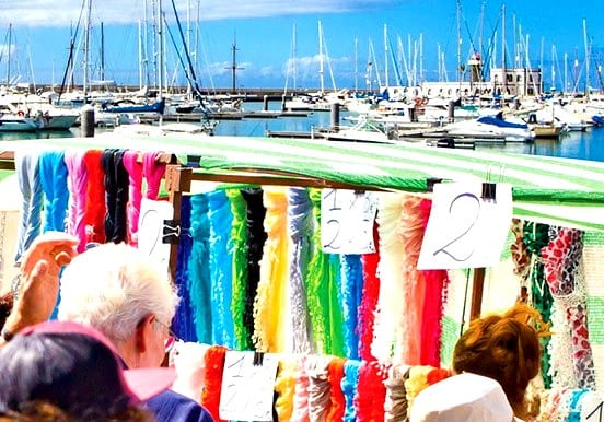 Shop in Marina Rubicon and sail to Papagayo