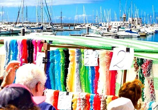 Shop in Marina Rubicon and sail to Papagayo
