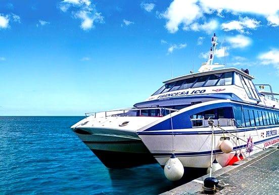 Island hopping ferry Fuerteventura Lanzarote