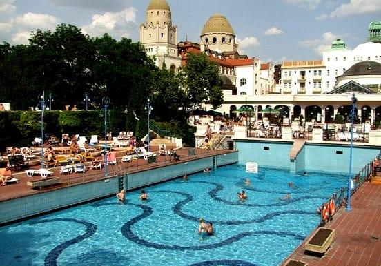 Gellért spa in Hungary