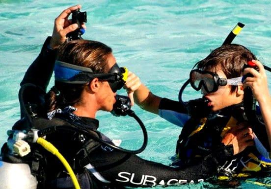 Bubblemaker diving for kids Lanzarote