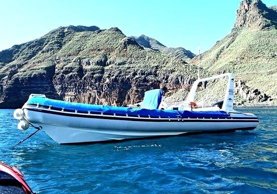 Boat transfer Puerto Chico to Roque Bermejo in Anaga