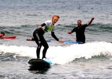 Learn how to surf in Punta del Hidalgo