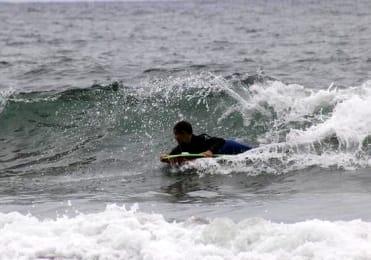 Bodyboard in Punta del Hidalgo