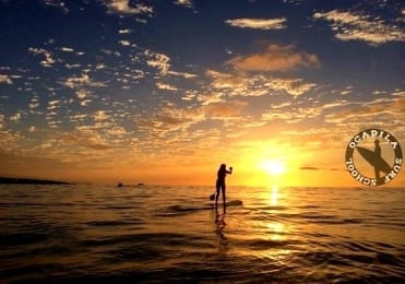 Sunset stand up paddle Punta del Hidalgo