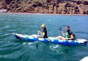 Kayaking in Punta del Hidalgo