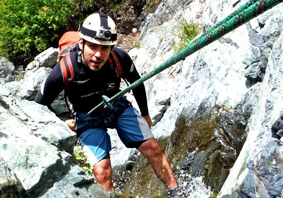 Experience canyoning in La Palma