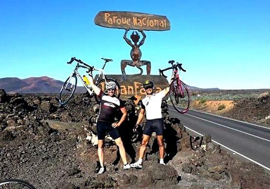 Road bike to Timanfaya National Park