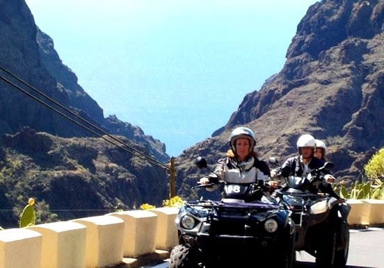 Quad tour safari to Masca