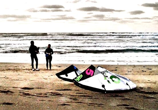 Introductory course on kitesurfing in Lanzarote