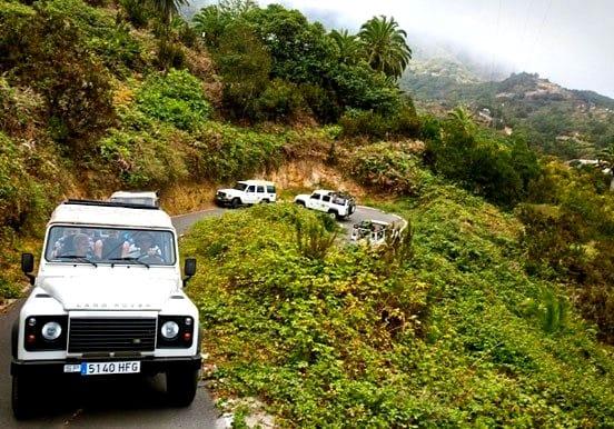 Jeep safari adventure in south Tenerife