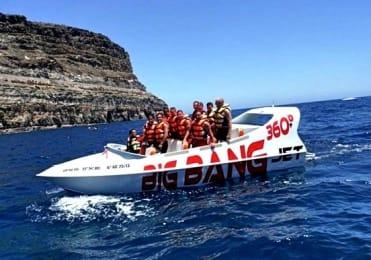 Jet boat ride in Gran Canaria