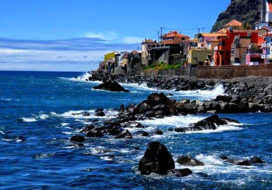 Rugged coastal landscape Madeira jeep tour
