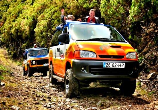 All terrain jeep tour on Madeira island