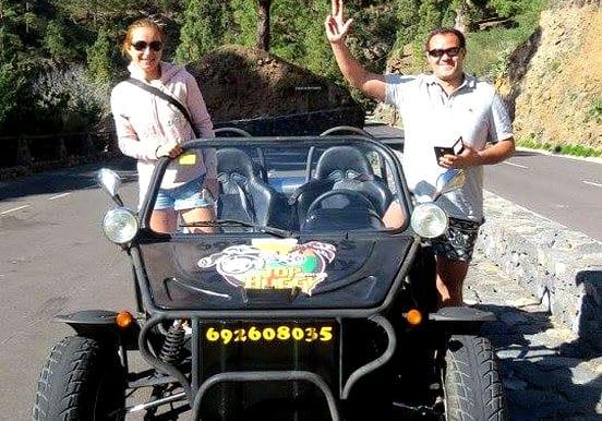 Buggy adventure to visit Teide in Tenerife