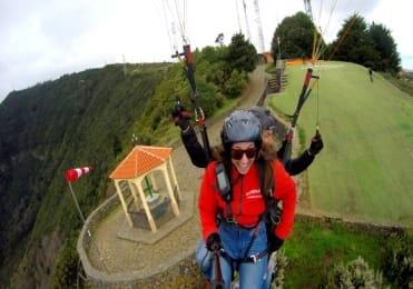 Paragliding trip La Corona Tenerife