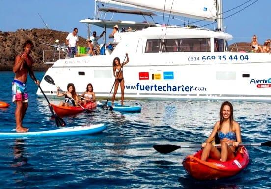 Sailing, kayak and paddle board Corralejo