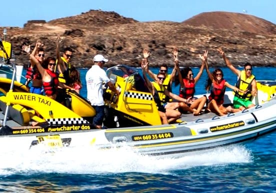Corralejo Isla Lobos private water taxi