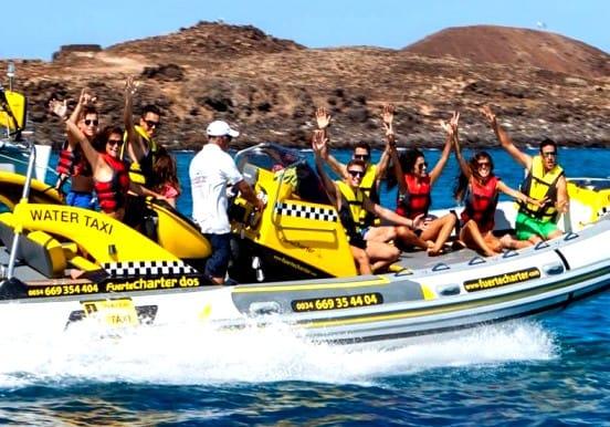 Corralejo Isla Lobos private water taxi