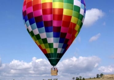 Charter a hot air balloon in Ibiza