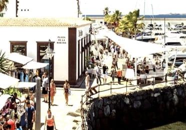 Visit bustling Marina Rubicon from Fuerteventura