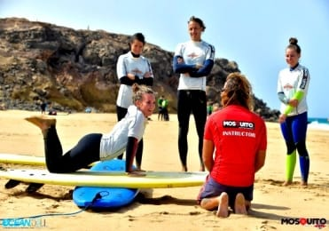 Beginner surf lessons Fuerteventura
