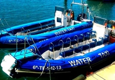 Water taxi San Andrés to Antequera Anaga and return