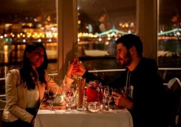 Couple cruise on Valentine's day