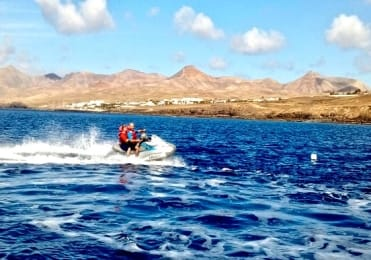 Lanzarote jetski safari Papagayo experience