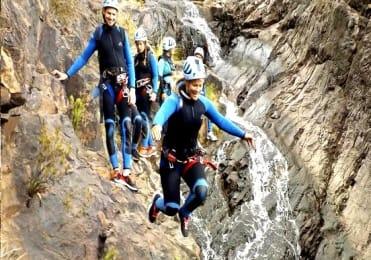 Canyoning and jumping Gran Canaria