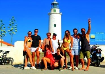Formentera jeep tour lighthouse