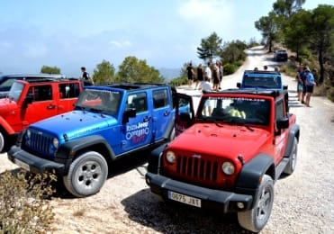 Private Jeep tour in Ibiza with paella snorkelling and cliff dive