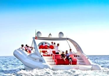 Luxury boat trip on Opera 60